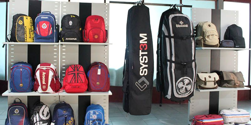 Skysoar Bags showing room